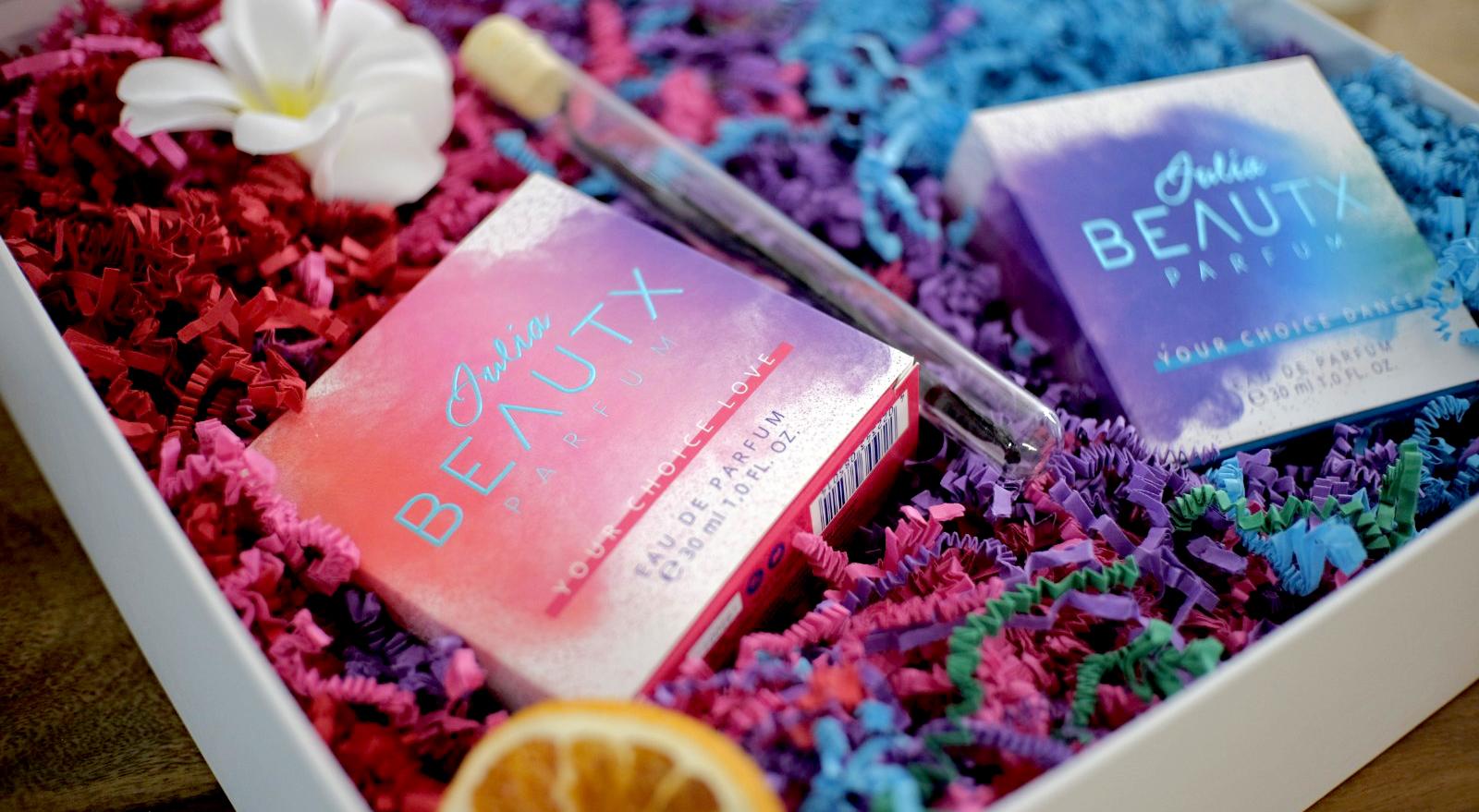 Promo-Box für Julia Beautx Parfum