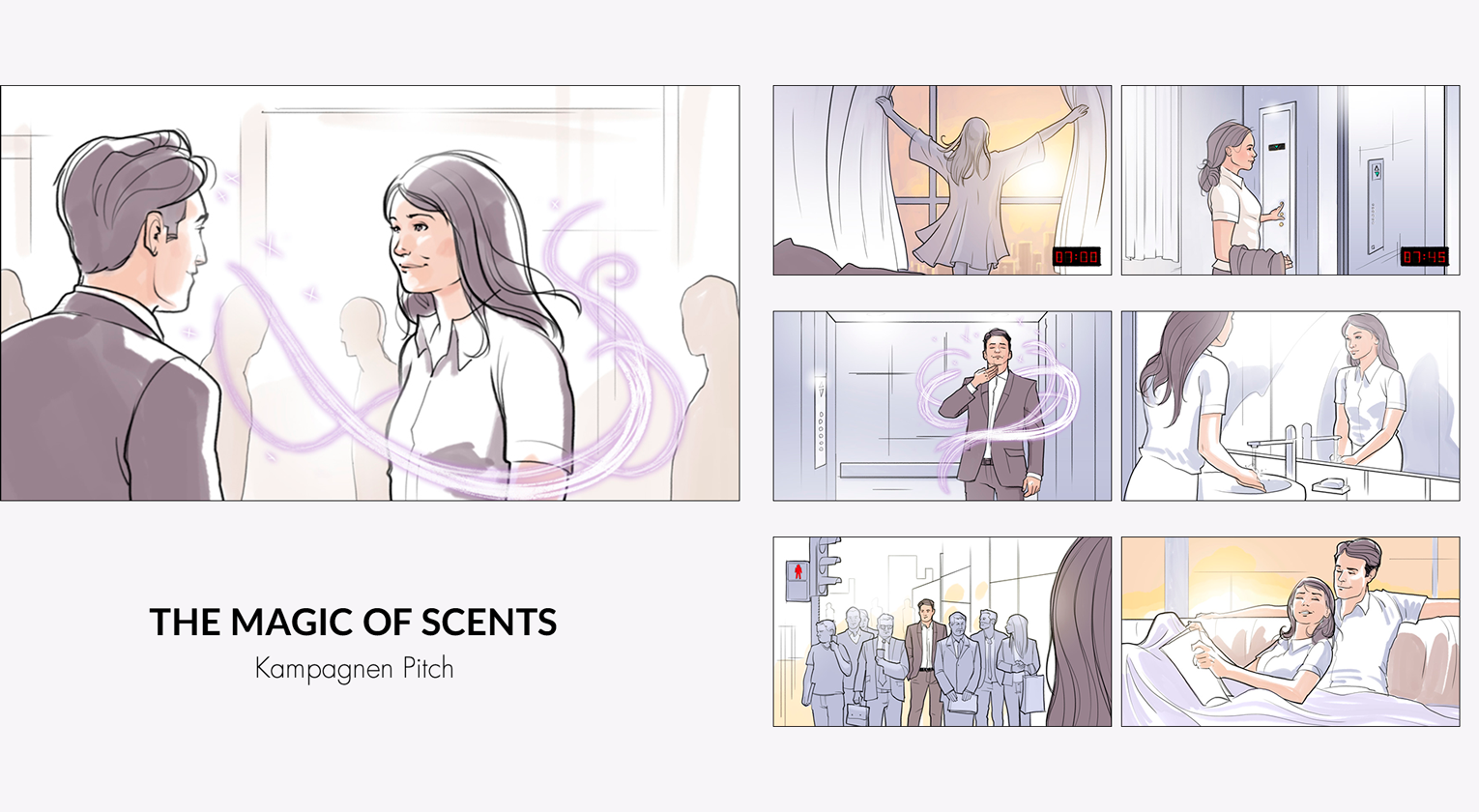 Storyboard für Magic of Scent