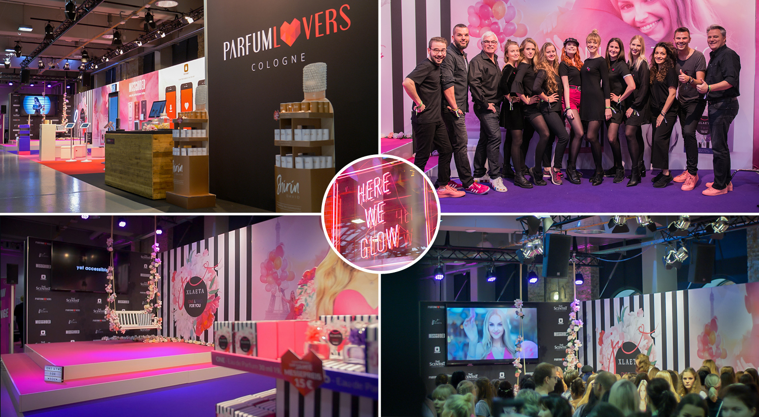 Messestand der Parfumlovers