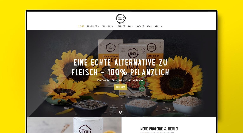 SunflowerFamily Imagewebseite