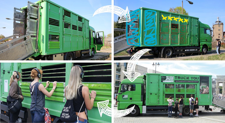 Truck You: Truck Verwandlung