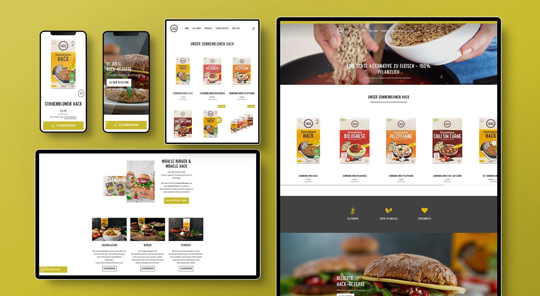 Onlineshop für SunflowerFamily